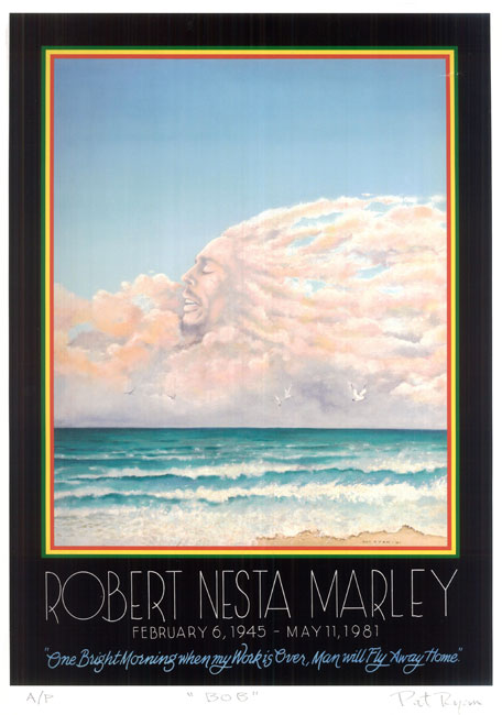 Bob Marley in the Clouds